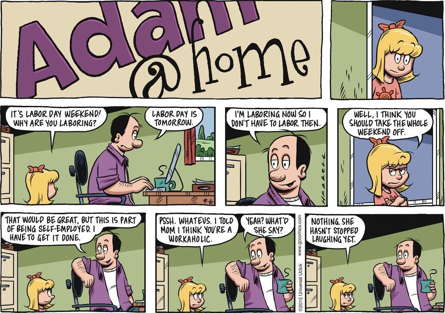 Adam@Home Comic Strip for September 06, 2015