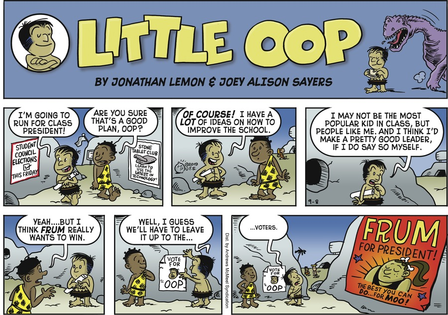 Alley Oop by Jonathan Lemon and Joey Alison Sayers for September 08, 2019