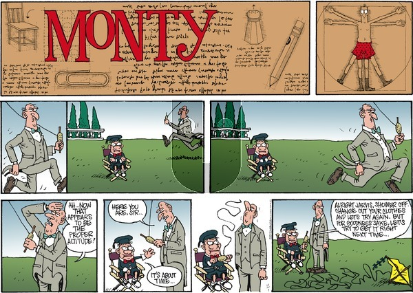 Monty on Sunday November 1, 2015 Comic Strip