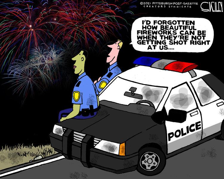 Steve Kelley Comic Strip for July 04, 2021