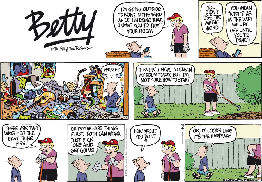 Betty by Gary Delainey and Gerry Rasmussen for May 26, 2019