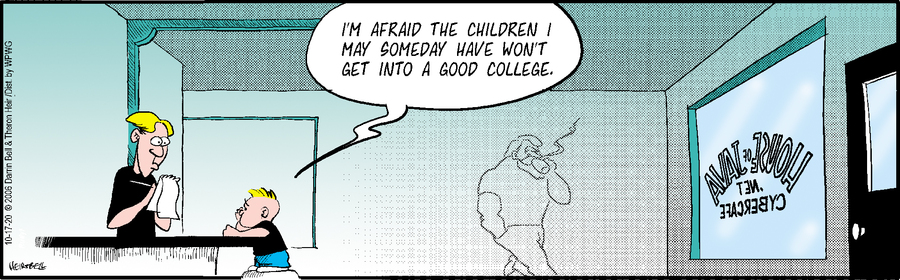 Rudy Park Comic Strip for October 17, 2020