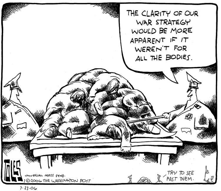 Tom Toles for Jul 23, 2006 Comic Strip