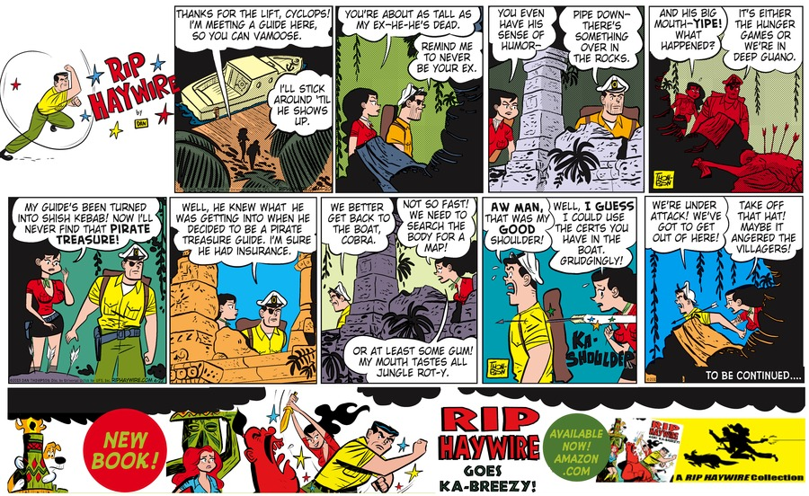 Rip Haywire Comic Strip for September 13, 2015