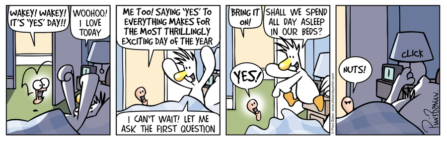 Ollie and Quentin Comic Strip for February 17, 2016