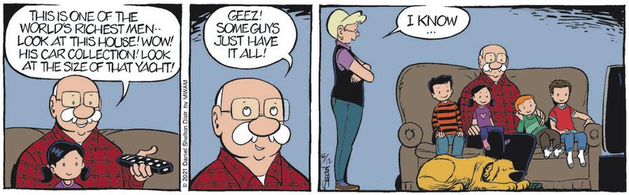 Ben Comic Strip for June 12, 2021
