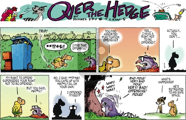 Over the Hedge on Sunday April 3, 2016 Comic Strip