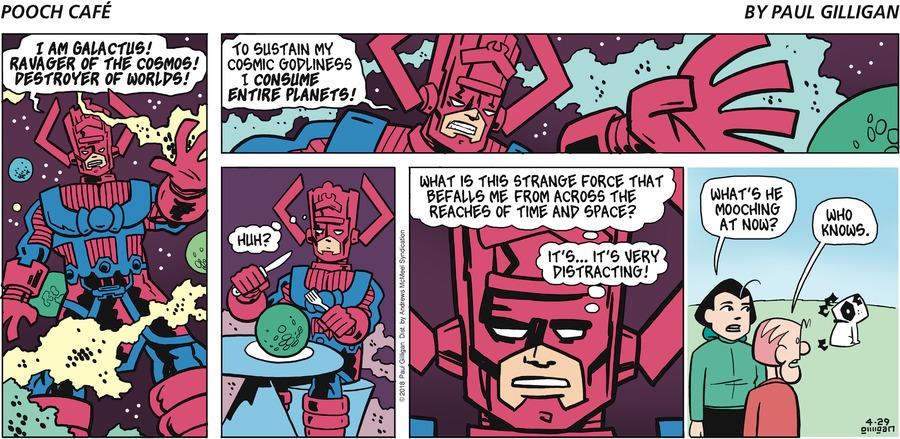 Pooch Cafe Comic Strip for April 29, 2018