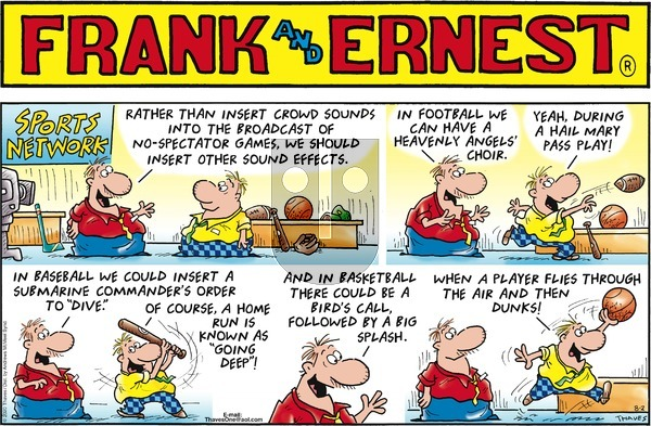 Frank and Ernest on Sunday August 2, 2020 Comic Strip