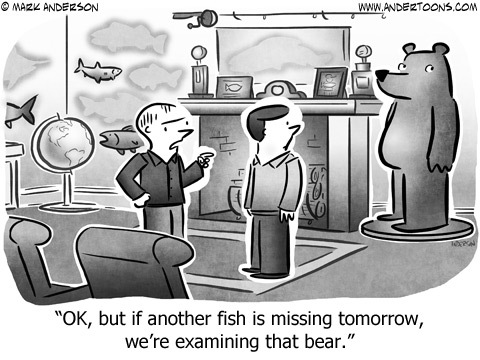Andertoons Comic Strip for March 19, 2018