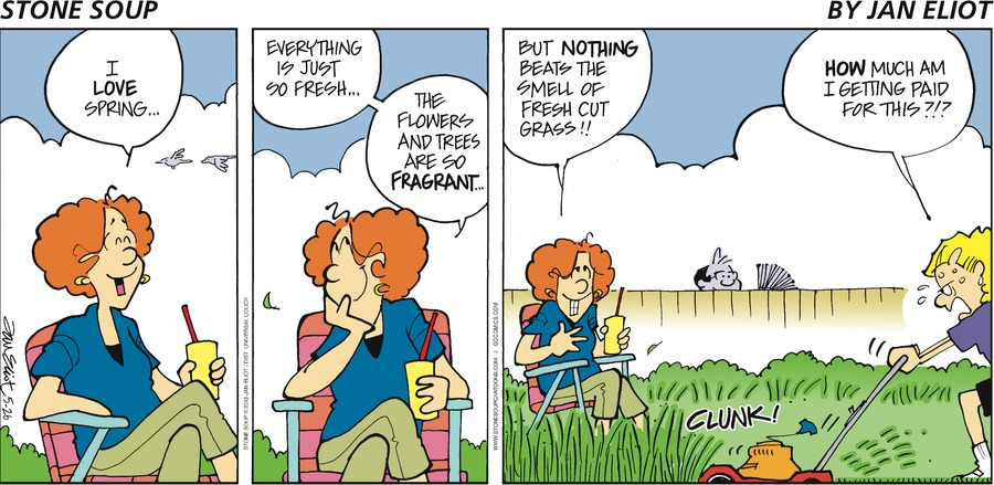 Stone Soup Comic Strip for May 26, 2013