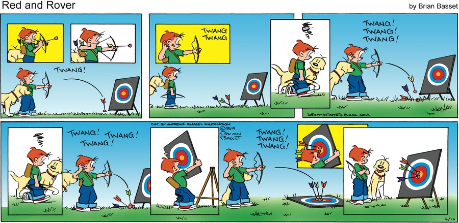 Red and Rover Comic Strip for June 16, 2019