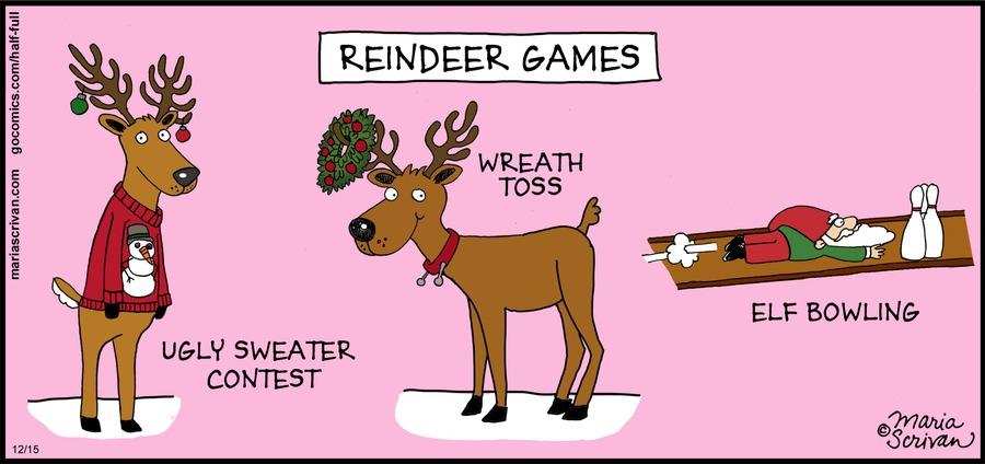 Half Full Comic Strip for December 15, 2013