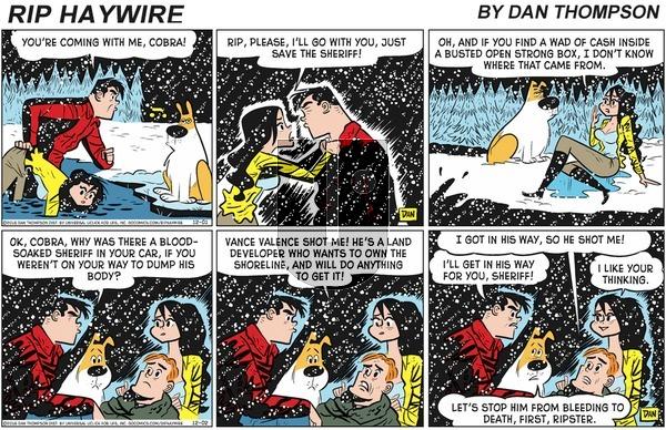 Rip Haywire on Sunday February 16, 2020 Comic Strip