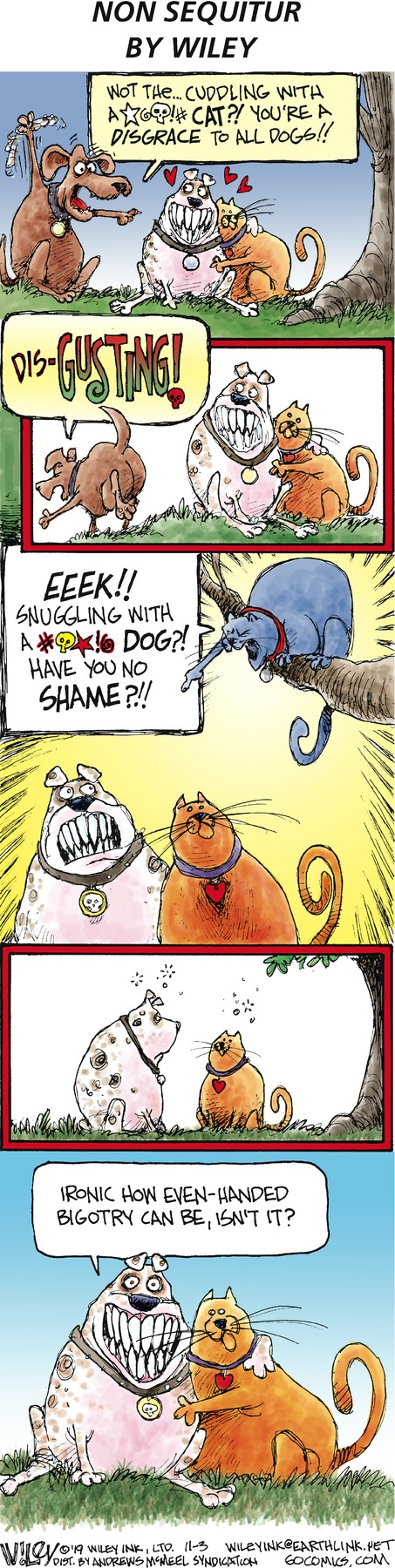 Non Sequitur Comic Strip for November 03, 2019