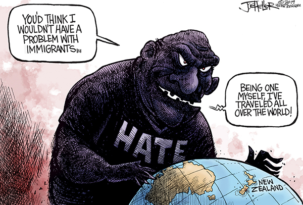 Joe Heller by Joe Heller for March 16, 2019