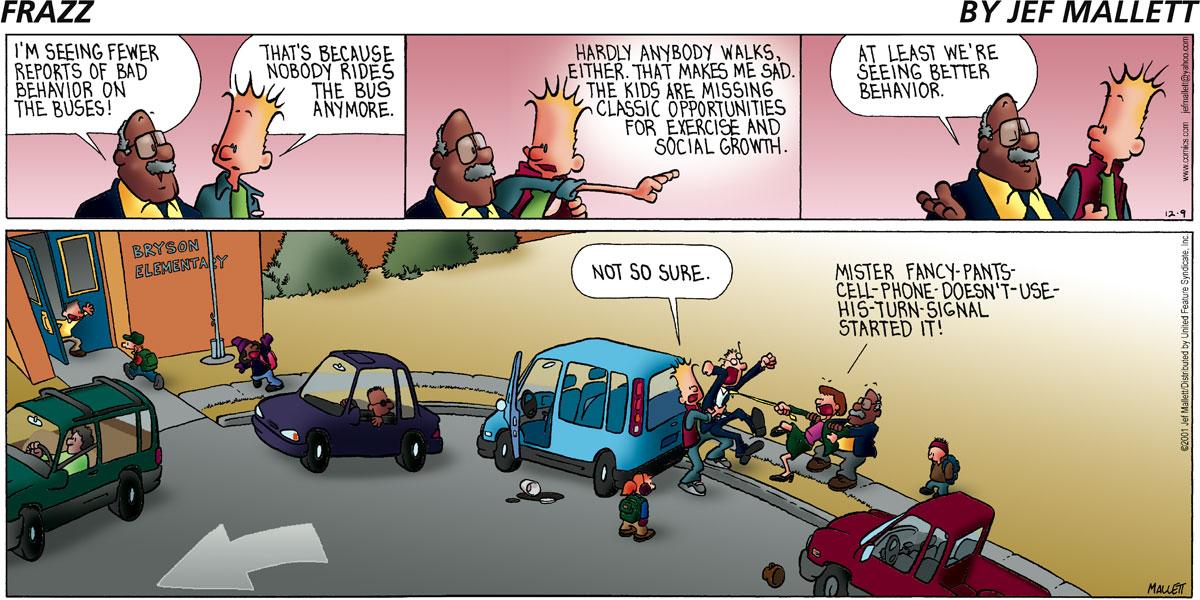 Frazz for Dec 9, 2001 Comic Strip