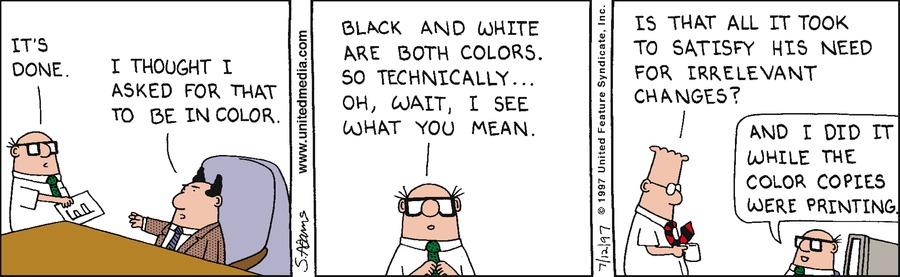 Dilbert Classics Comic Strip for June 13, 2021