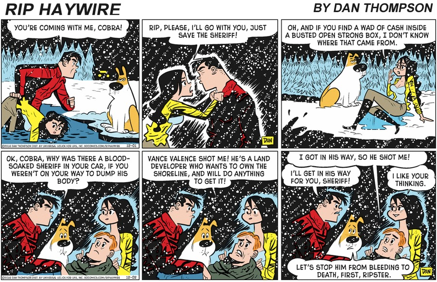 Rip Haywire Comic Strip for February 16, 2020