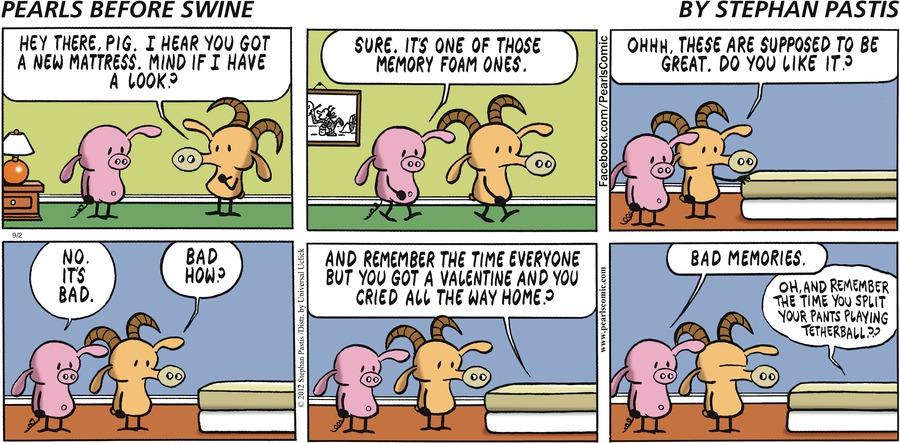 Pearls Before Swine for Sep 2, 2012 Comic Strip