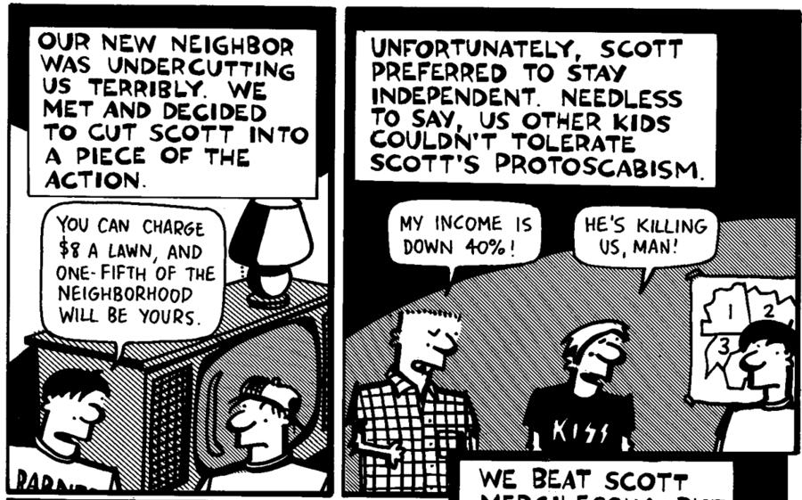 The Worst Thing I've Ever Done Comic Strip for May 28, 2015