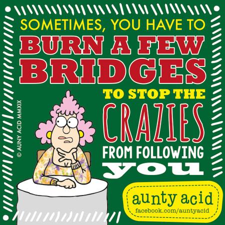 Aunty Acid Comic Strip for February 17, 2019