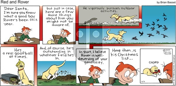 Red and Rover on Sunday December 6, 2020 Comic Strip