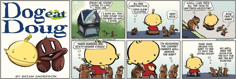 Dog Eat Doug for Apr 27, 2014 Comic Strip