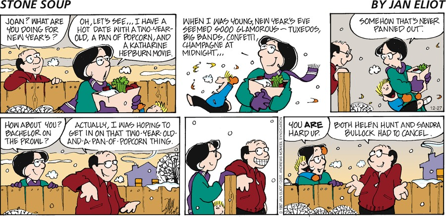Stone Soup Comic Strip for December 27, 2020