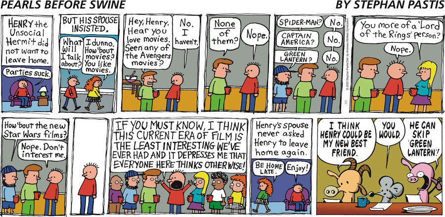 Pearls Before Swine Comic Strip for May 03, 2020