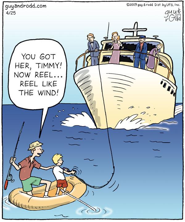 Brevity for Apr 25, 2009 Comic Strip