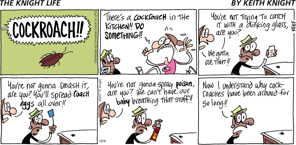 The Knight Life Comic Strip for December 04, 2011