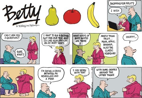 Betty on Sunday February 10, 2019 Comic Strip