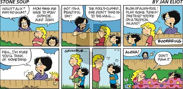 Stone Soup - Sunday May 10, 2020 Comic Strip