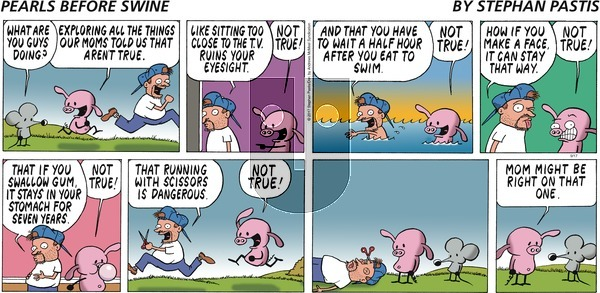 Pearls Before Swine on Sunday September 17, 2017 Comic Strip