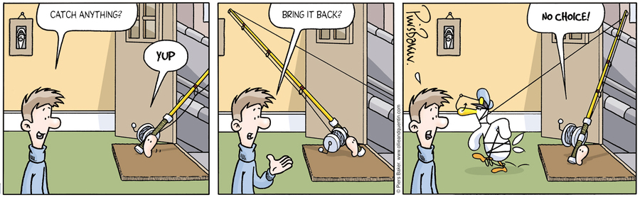 Ollie and Quentin for Aug 31, 2012 Comic Strip