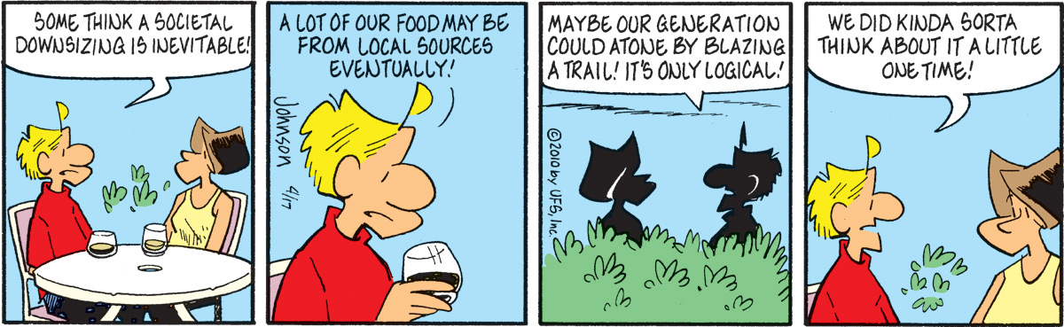 Arlo and Janis for Apr 17, 2010 Comic Strip