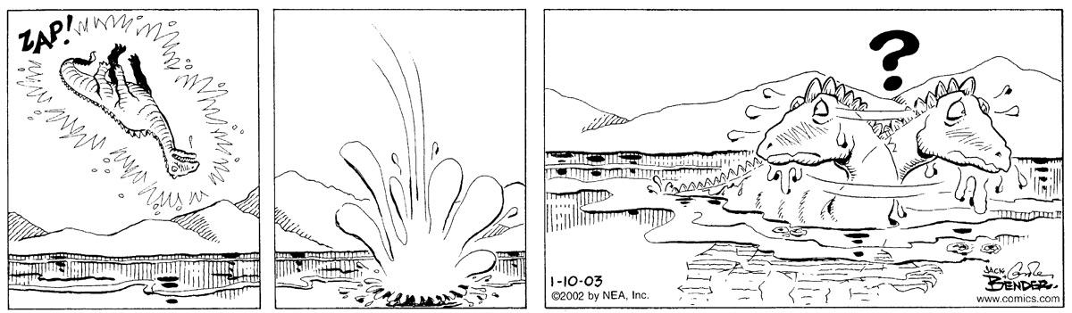 Alley Oop for Jan 10, 2003 Comic Strip