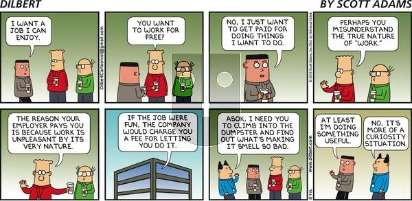 Dilbert - Sunday August 7, 2016 Comic Strip