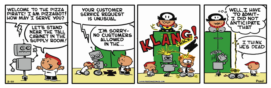 Pirate Mike Comic Strip for May 17, 2019