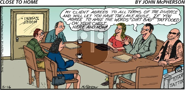 Close to Home on Sunday May 16, 2021 Comic Strip