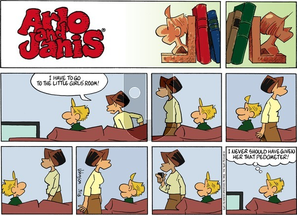 Arlo and Janis on Sunday March 18, 2012 Comic Strip