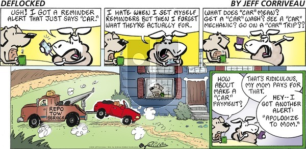 DeFlocked on Sunday August 2, 2020 Comic Strip
