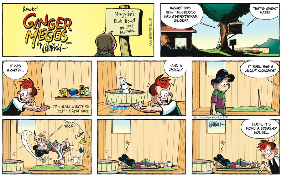 Ginger Meggs for Jun 23, 2013 Comic Strip