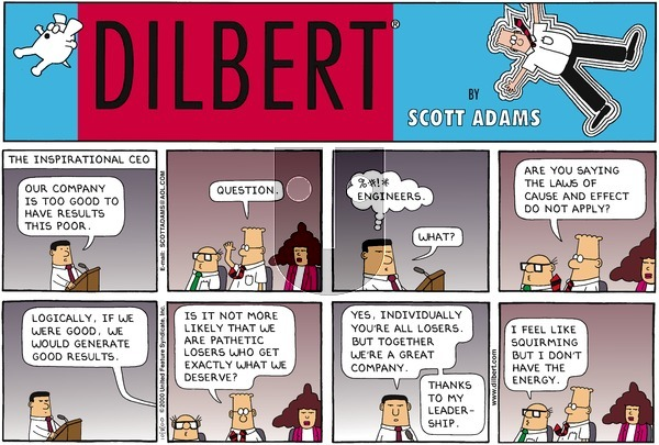 Dilbert - Sunday October 8, 2000 Comic Strip