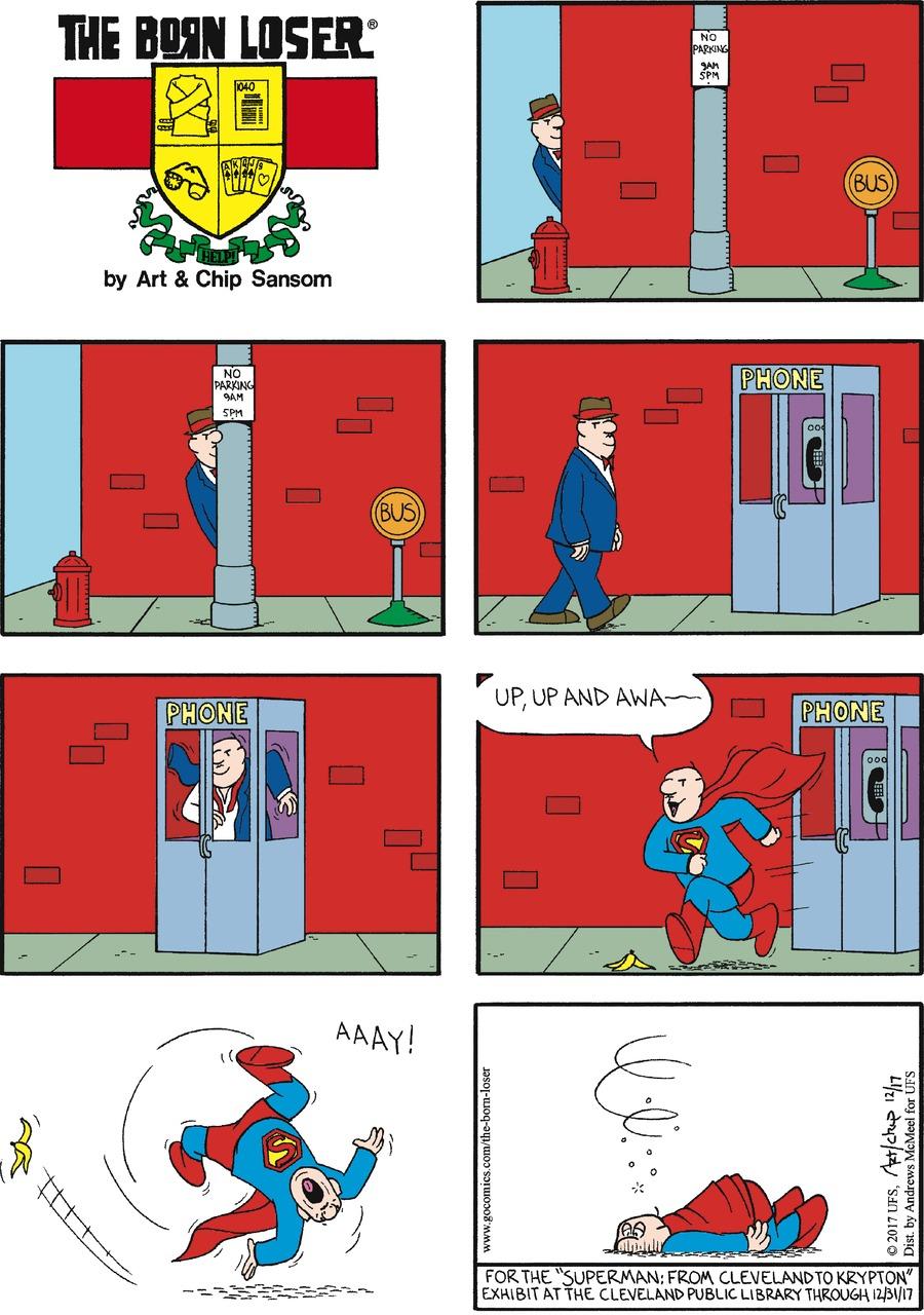 The Born Loser Comic Strip for December 17, 2017