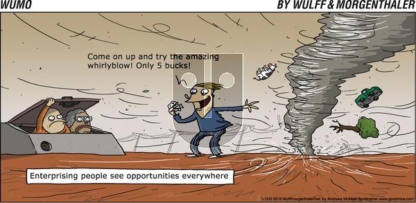 WuMo on Sunday January 13, 2019 Comic Strip