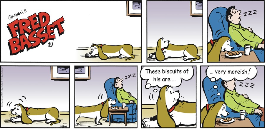Fred Basset Comic Strip for May 26, 2019