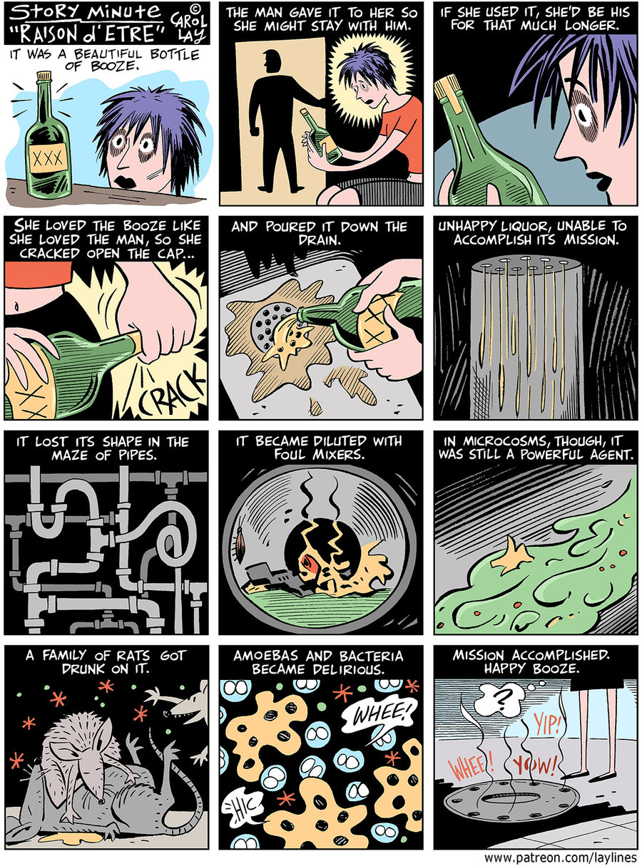 Lay Lines Comic Strip for October 19, 2020