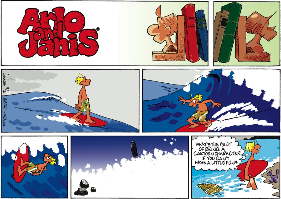 Arlo and Janis Comic Strip for September 15, 2002